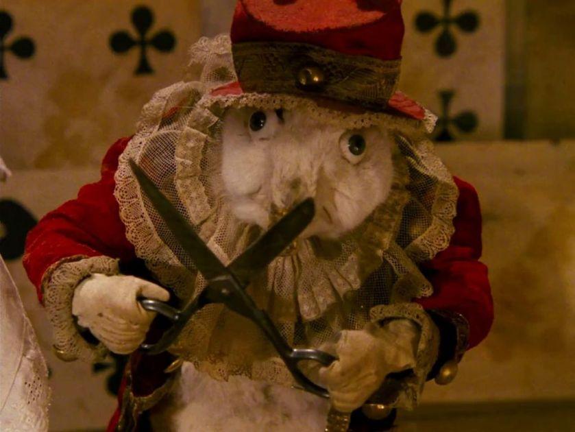 Alice white rabbit